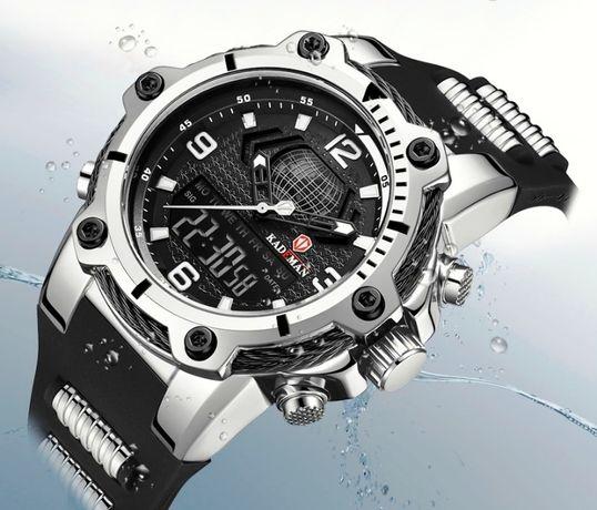 KADEMAN 100% oryginalny kwarcowy męski zegarek cyfrowy promocja LED