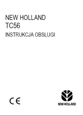 Instrukcja obsługi NEW HOLLAND TC56 [PL]