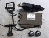 Zestaw startowy Fiat Seicento - komputer, immo, stacyjka, wkładki
