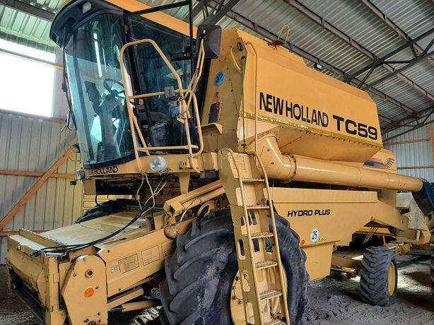 kombajn new holland tc59  tc56 zamiana