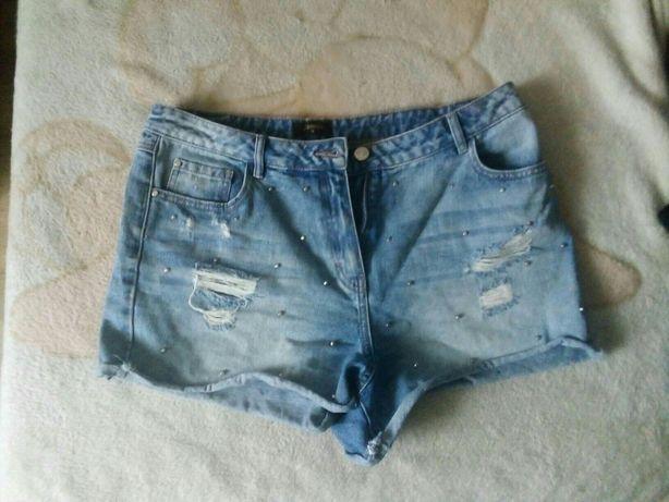 Spodenki jeans xl