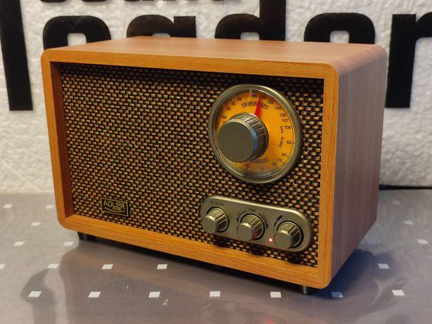 Retro radio oraz głośnik bluetooth w jednym