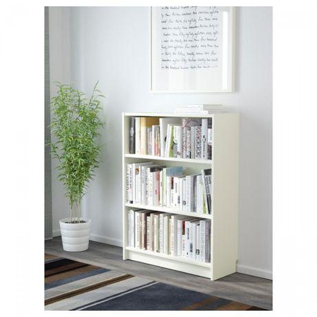 Стеллаж белый ИКЕА Билли, 80x28x106 см