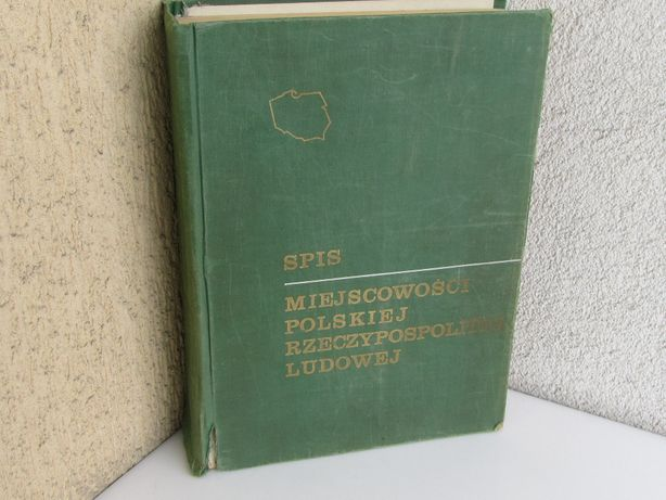 Spis miejscowości Polskiej Rzeczypospolitej Ludowej 1968
