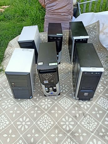 Komputery stacjonarne PC 6 sztuk sprawne