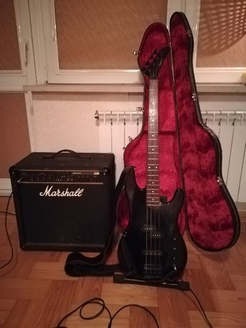 Marshall piec basowy 100W Gitara Gibson gratisy