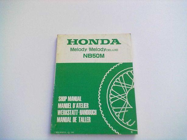 Manual Técnico Oficial Honda Melody NB 50 M