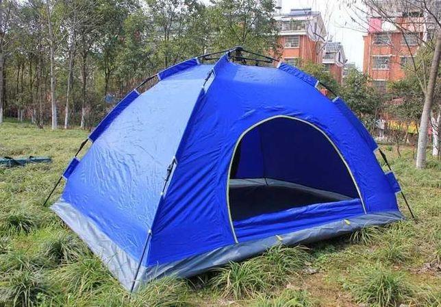 автоматическая Палатка 4-х местная, купольная + чехол, купольная