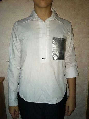 Детская школьная кофта рубашка на девочку