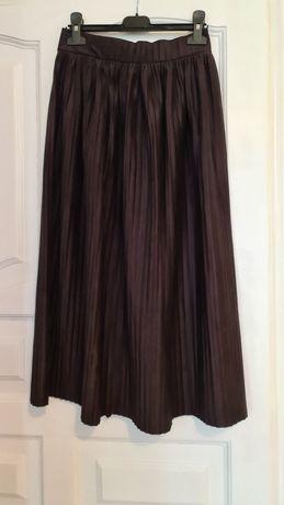 Тёплая юбка миди