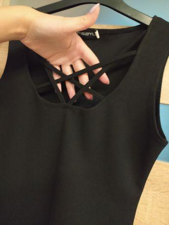 Czarna sukienka Wassyl rozm XS/S