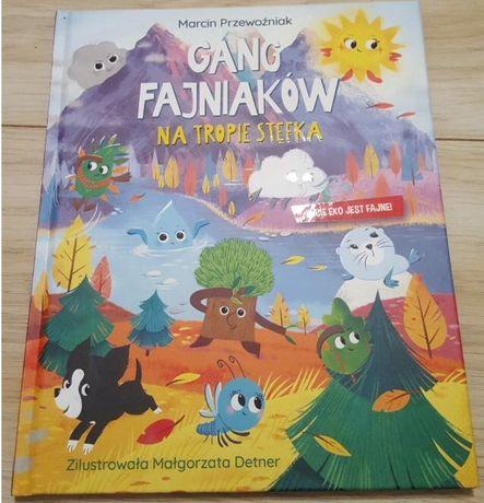 Książka Gang Fajniaków Na tropie Stefka