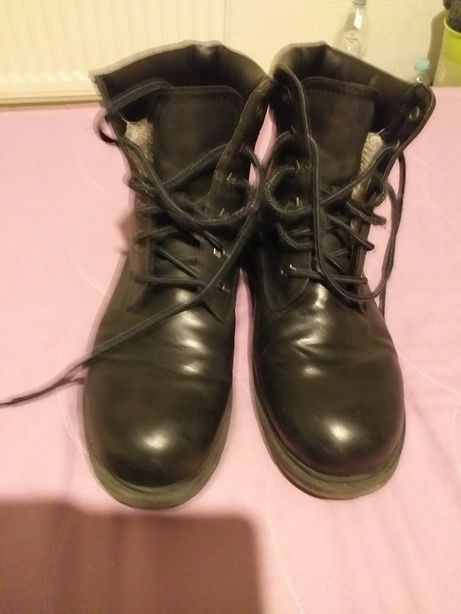 Landrover buty skórzane trapery buty górskie