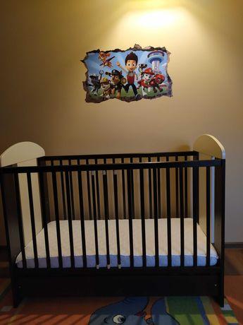 Łóżeczko z materacem 120x60