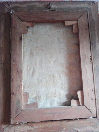 Starocie po porząch obraz malowany na płótnie
