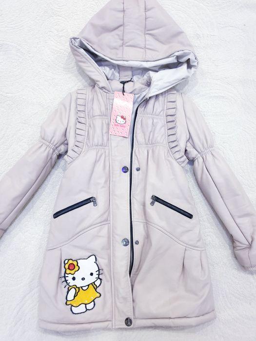Куртка-пальто кожа новая Вышгород - изображение 1