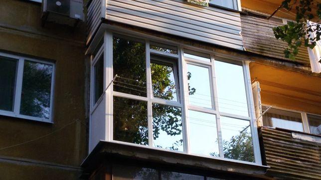 Отделка балконов и лоджий под ключ. Откосы
