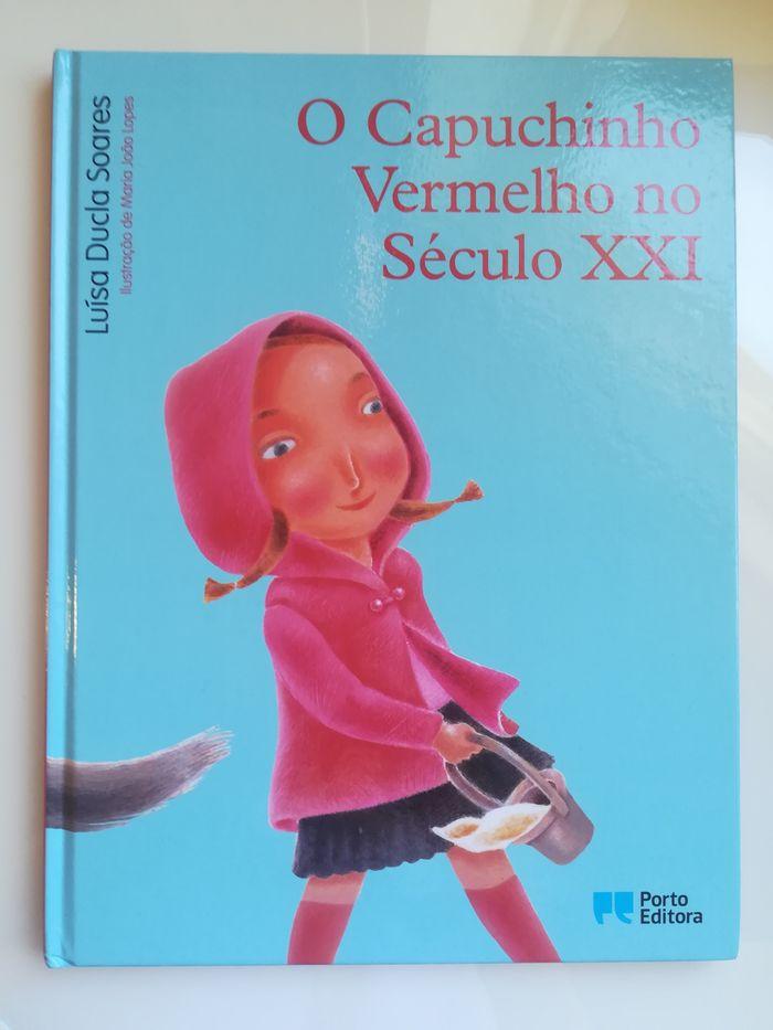 'O Capuchinho Vermelho no século XXl' de Luísa Ducla Soares, Porto Edi Buarcos - imagem 1