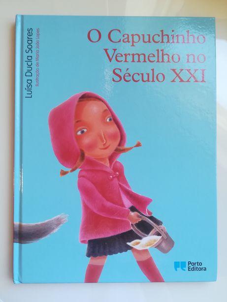 'O Capuchinho Vermelho no século XXl' de Luísa Ducla Soares, Porto Edi