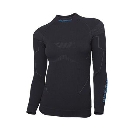 BRUBECK Damska Bluza THERMO czarna L,XL