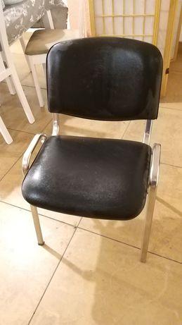 Krzesło biurowe czarne