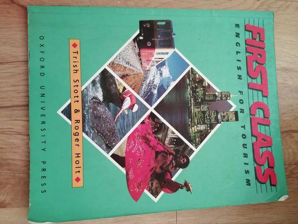 First class English for tourism książka do angielskiego stott holt