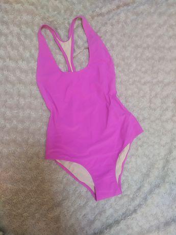Różowy strój kąpielowy XS 34 s 36 damski jednoczęściowy
