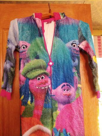 Пижама кигуруми девочке 9-10 лет