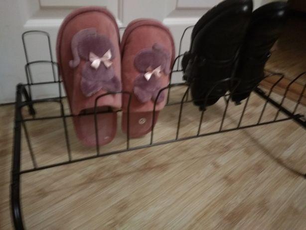 обувная полка держатель для обуви металлический разборный складной