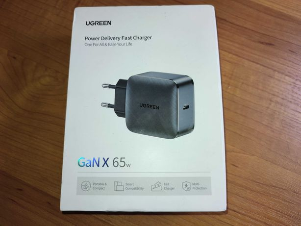 Премиум зарядное Ugreen 65 для всех устройств цена МИНИМАЛЬНАЯ!