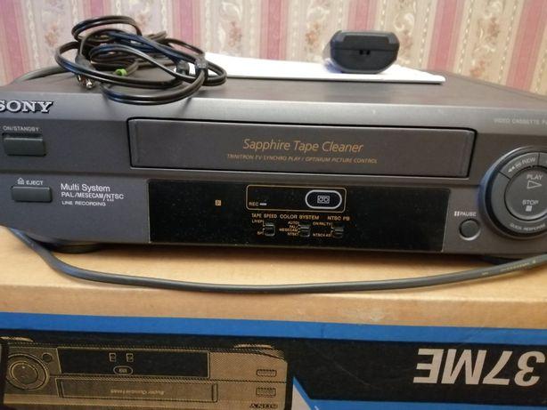 Видеомагнитофон SONY SLV - XA37SG. Можно с новыми видеокассетами