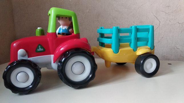 Трактор ELC со звуковыми эффектами