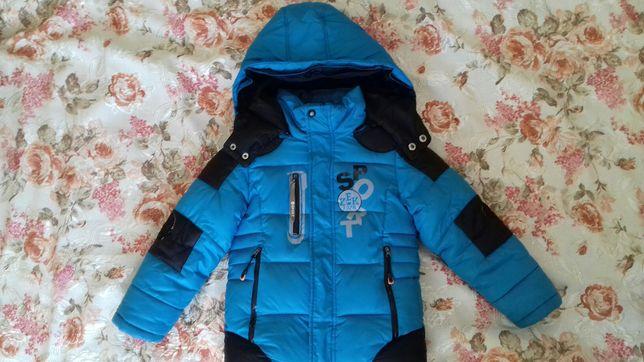 Куртка на мальчика 110