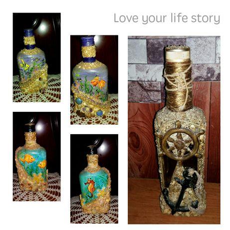 Штоф. Бутылка сувенирная.