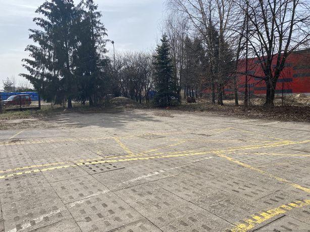 Parking osobowy bus ciężarówki maszyny S14 Retkinia Maratońska