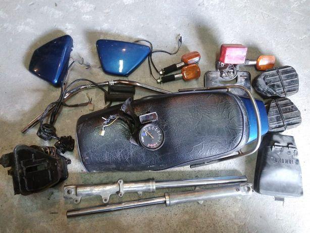 Yamaha XS 400 Części - Kanapa, Lagi, Boczki, inne