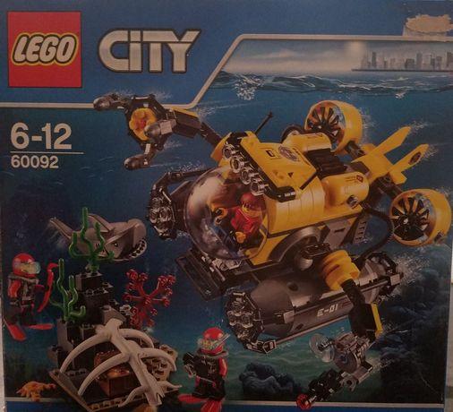 Klocki Lego City 60092 łódź głębinowa zestaw