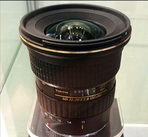 Vendo lente Tokina 11-20 2.8 para nikon