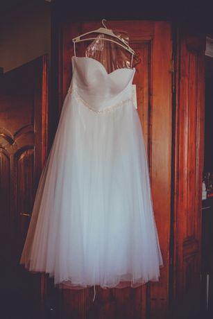 Sprzedam piękną suknie ślubną. Cena ostateczna!!