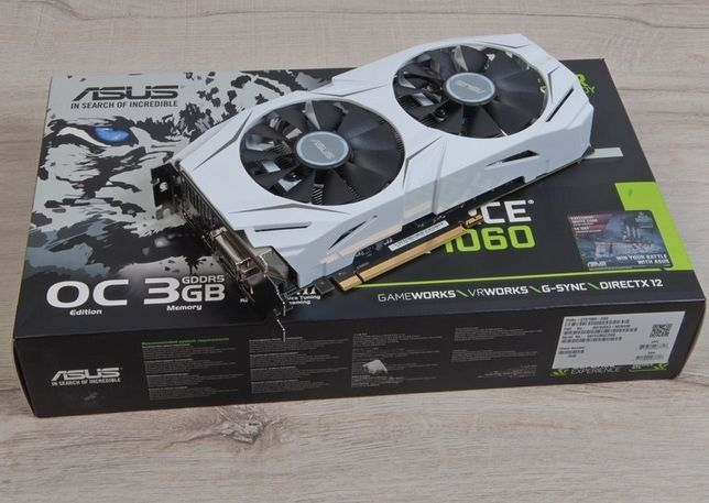 GTX 1060 OC 3Gb FUNCIONA 100%