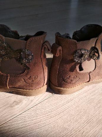 Замшевые ботиночки челси