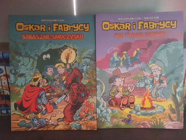Oskar i Fabrycy. 2 tomy. Nowe. Komiks