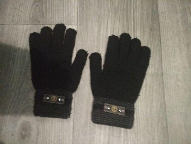 Перчатки женские зимние вязанные