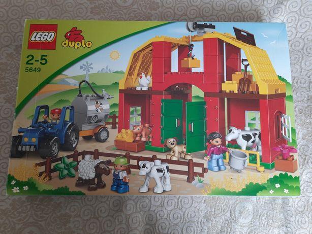 Lego Dulpo Лего дупло 5649 Большая ферма + Пластина 10700