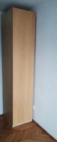 Szafa ikea PAX 50x60x230+ wysoka wąska, jasna