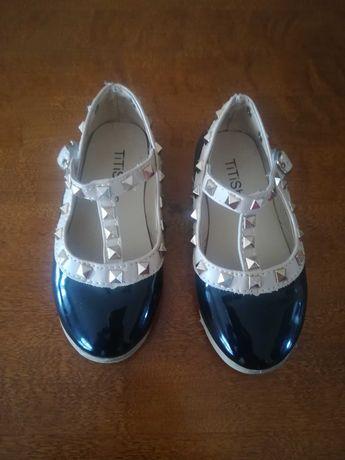 Balerinki buciki ćwieki Zara 24 15cm