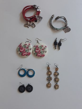 Biżuteria - kolczyki, pierścionki, bransoletki