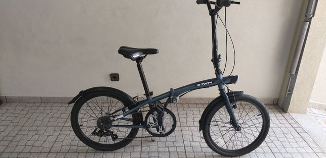 Bicicleta dobrável btwin Tilt 500