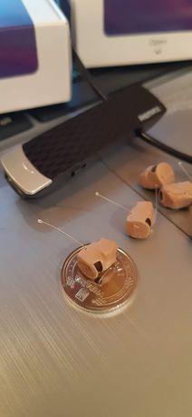 Bluetooth гарнитура с наушником (микронаушник 6 мм)
