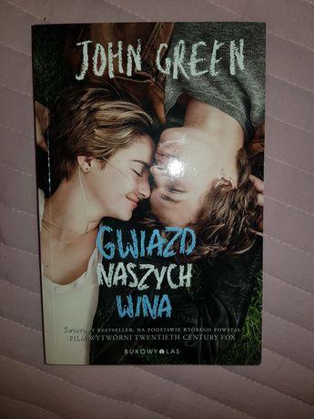 Gwiazd naszych wina john green książka